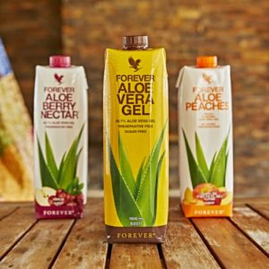 TRIPACK MIX - PULPE D'AOE VERA - BERRY - PÊCHE FOREVER LIVING